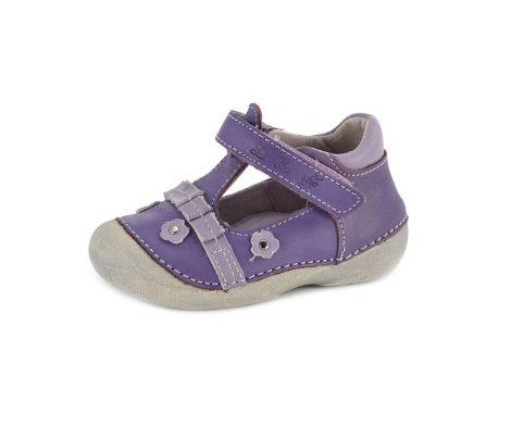 D.D. Step kislány szandálcipő/balerina lila, 22,24 - (015-110a ) - AKCIÓS