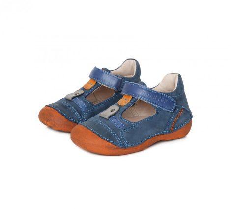 D.D. Step kisfiú szandálcipő kék-narancs talpú, 19-24 - (015-145a) - AKCIÓS