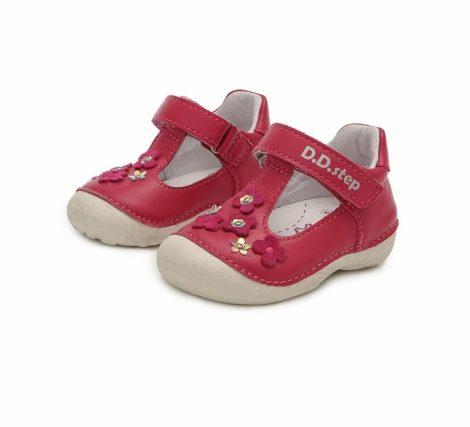 D.D. Step kislány szandálcipő, dark pink, 19-23 (015-467B) AKCIÓS