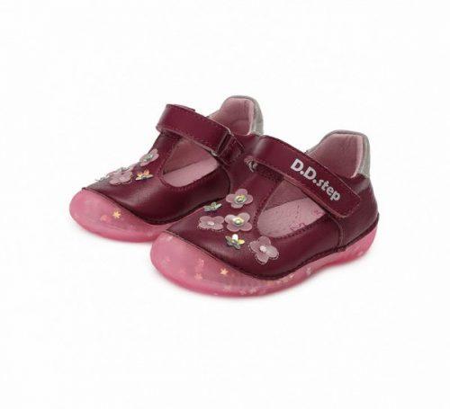 D.D. Step kislány szandálcipő, violet, 20,21,23 (015-467a) - AKCIÓS