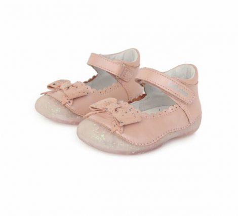D.D. Step kislány szandálcipő, pasztelpink, masnis 19-24 (015-641) POSTA AZ ÁRBAN