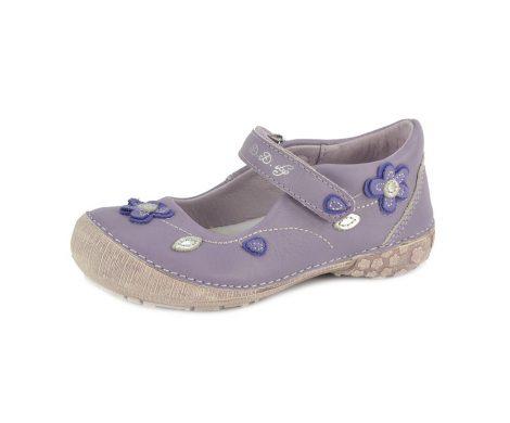 D.D. Step lány szandálcipő/balerina lila - 25,29 - 026-48a