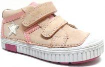 D.D. Step nagylány zárt cipő halványrózsaszín sportos csillagos - 33,35,36