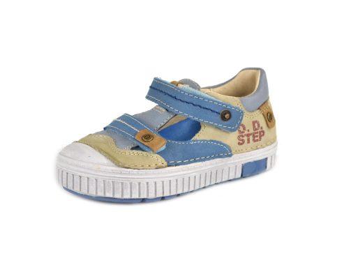 D.D. Step nagyfiú vagány szandálcipő kék, krém színű- 36-os - AKCIÓS (033-6b)