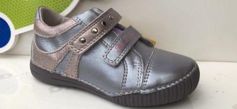 D.D. Step lány bőrcipő, vagány metállila színű, 25,27, - AKCIÓS (036-67b)