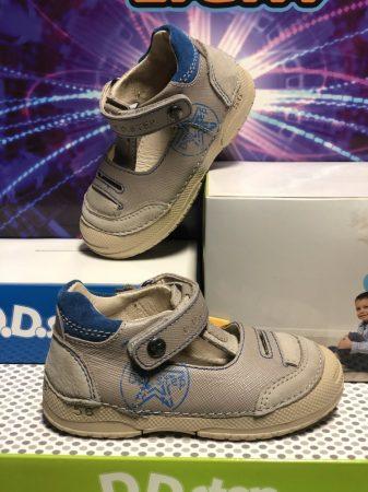 D.D. Step kisfiú szandálcipő szürke, 19-24 - (038-225a) - AKCIÓS