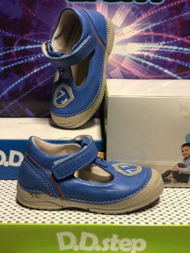 D.D. Step kisfiú szandálcipő szürke, 19-23 - (038-242a) - AKCIÓS