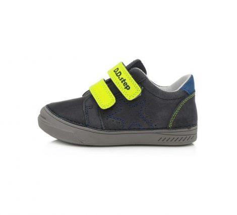 D.D Step nagyfiú átmeneti bőrcipő, 31-35 (040-168AL) POSTA AZ ÁRBAN