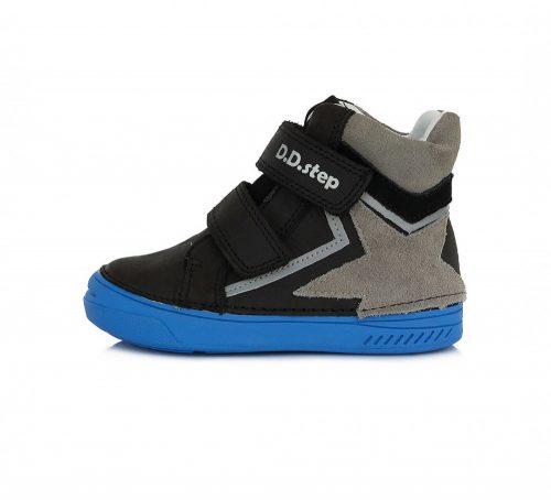 D.D. Step fiú átmeneti TEX-es magas szárú bőrcipő ,25-30! (040-343BM) POSTA AZ ÁRBAN!