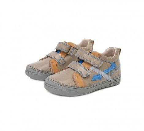 D.D. Step fiú zárt cipő , homok színű, villámos 28,29,30 (040-407B) AKCIÓS