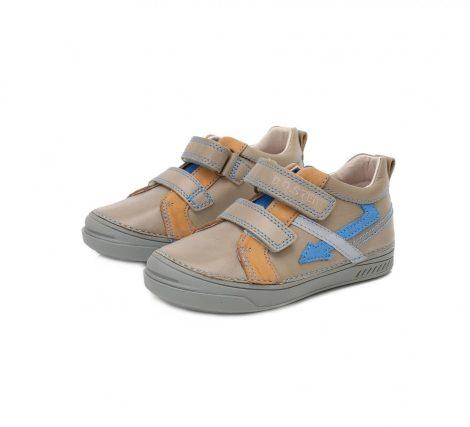 D.D. Step fiú zárt cipő , homok színű, villámos 29,30 (040-407B) AKCIÓS