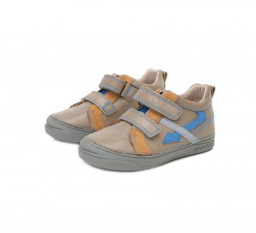 D.D. Step fiú zárt cipő , homok színű, villámos 30-as (040-407B) AKCIÓS