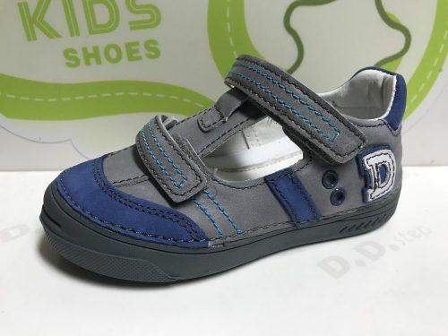 D.D. Step nagyfiú tavaszi/nyári bőr szandálcipő, szürke , 31,35 (040-414) - AKCIÓS
