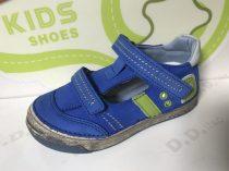 """D.D. Step fiú szandálcipő, kék-zöld, """"D"""" betűs - 25,28,29 (040-414b) - AKCIÓS"""