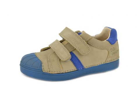 D.D. Step nagyfiú zárt cipő, sportos, vagány szürke kék - 31,33,34