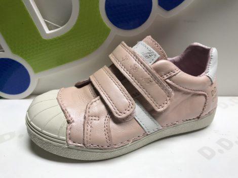 D.D. Step nagylány sportos, vagány halvány rózsaszín zárt cipő - 33,34,35 AKCIÓS
