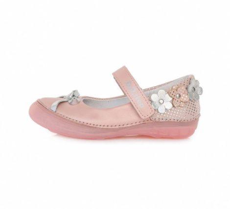 D.D. Step lány szandálcipő/balerina rózsaszín, 25-30 (046-228m) - AKCIÓS