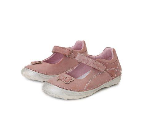 D.D. Step nagylány mályva pillangós szandálcipő/balerina - 31,32,34 (046-606b) - AKCIÓS