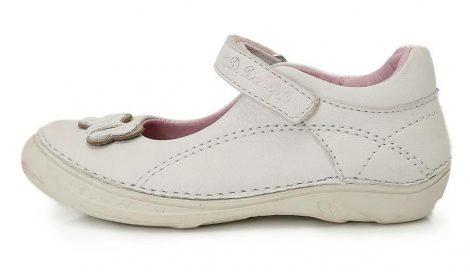 D.D. Step nagylány hófehér szandálcipő/balerina - 31-36 (046-606) - AKCIÓS