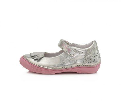 D.D. Step lány tavaszi/nyári ezüst szandálcipő, 25-30 (046-618am)