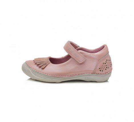 D.D. Step nagylány pasztel rózsaszín szandálcipő/balerina - 32-36 (046-618B)