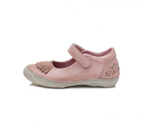 D.D. Step nagylány pasztel rózsaszín szandálcipő/balerina - 33,35,36 (046-618B)