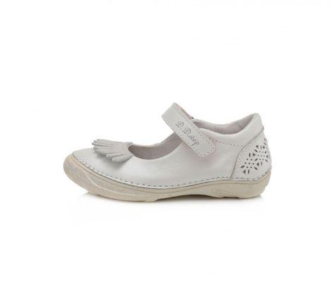 D.D. Step nagylány fehér szandálcipő/balerina - 31-36 (046-618)