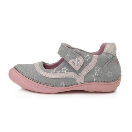D.D. Step lány szandálcipő/balerina szürke-rózsaszín, 25-30 (046-978am) - AKCIÓS