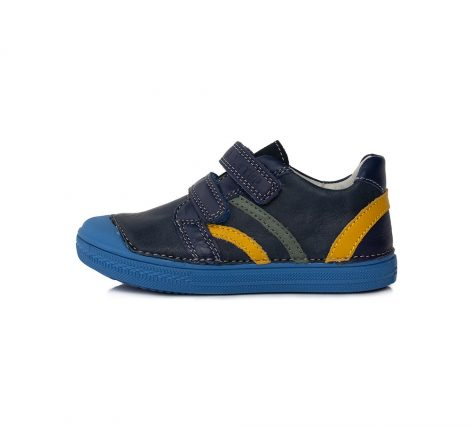 D.D. Step fiú átmeneti bőrcipő,sötétkék, 30-as (049-903AM) AKCIÓS