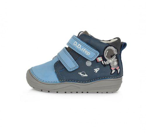 D.D. Step kisfiú TEX-es zárt cipő, kék, asztronautás! 20-25! (071-516A) POSTA AZ ÁRBAN!