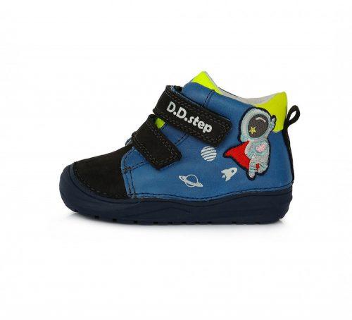 D.D. Step kisfiú TEX-es zárt cipő, sötétkék, asztronautás! 20-25! (071-516b) POSTA AZ ÁRBAN!