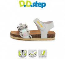 D.D. Step nagylány sportosan csinos parafa talpú bőrszandál,  31,34,36 (AC051-761al) - AKCIÓS