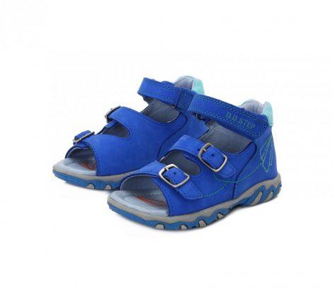 D.D. Step kisfiú szandál, kék, papírrepülős - 19-es (AC625-5008a) -(KICSIT KISEBB MÉRETEZÉS)!! AKCIÓS