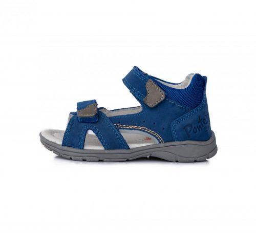 Ponte20 szupinált fiú bőrszandál  kék, 22-es (DA05-1-513) - AKCIÓS