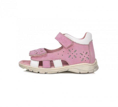 Ponte20 szupinált lány bőrszandál rózsaszín ,22,24-es(DA05-1-517a) - AKCIÓS